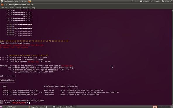 kali linux hack windows server 2012 r2