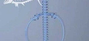 Tie a twisted dropper loop fishing knot