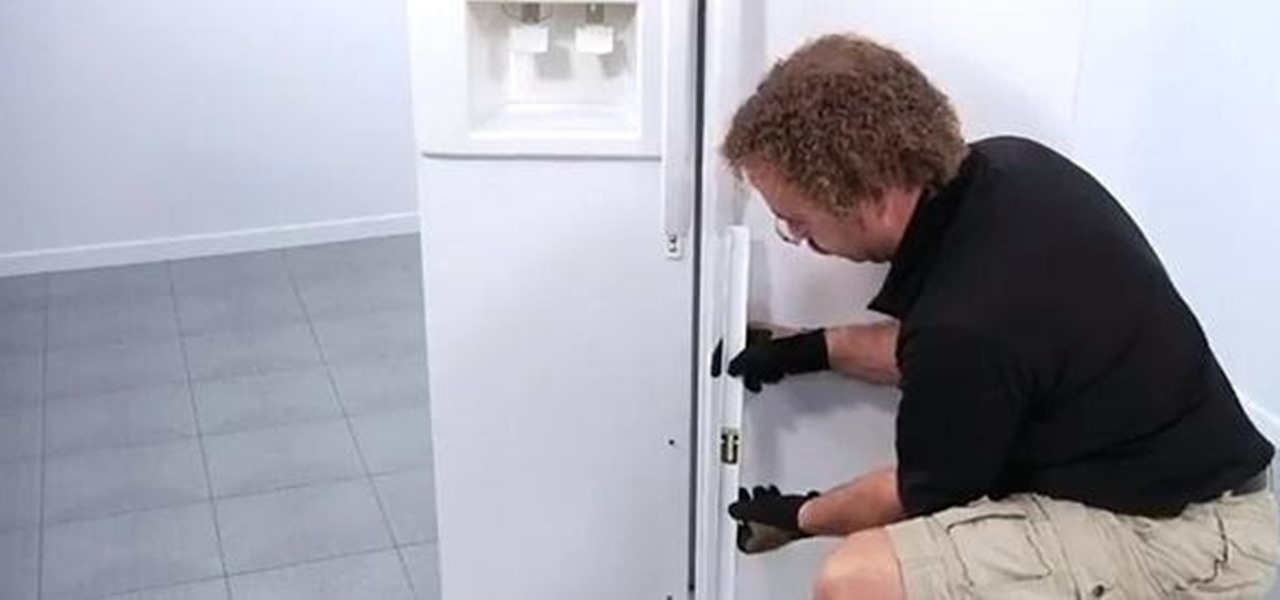 Replace a Refrigerator Door Handle