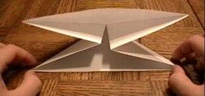 Fold an origami 3-D box