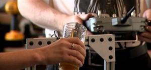 Remote Controlled Beer Keg Party-Bot