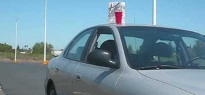 Use magnets to stick things to the roof of someone's car for a prank