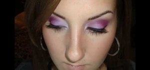 Get a warm makeup look with purples using MAC & CS