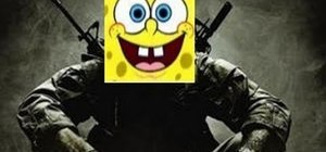 Make SpongeBob SquarePants in the Call of Duty: Black Ops Emblem Editor