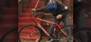 Adjust a bike seat
