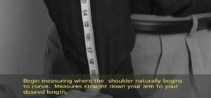 Measure your arm length
