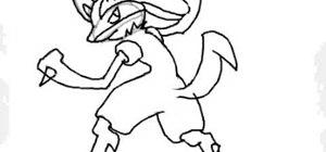 Draw Lucario