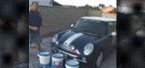 Wash a car showcar style