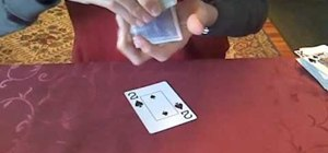 Perform the simplest card trick in the world