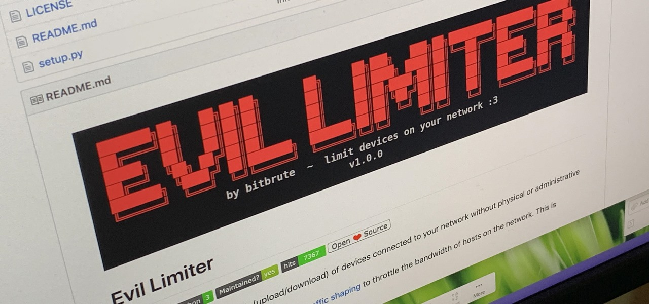 How to Control Network Traffic with Evil Limiter to Throttle or Kick