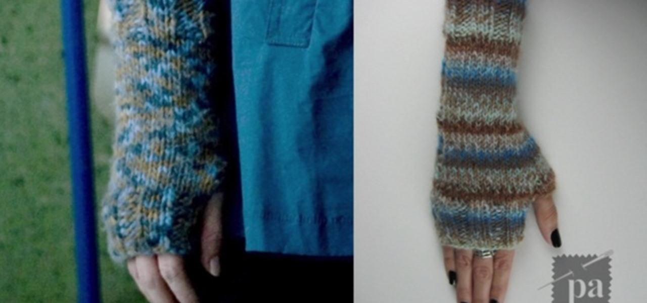 How To Knit Fingerless Gloves Like Twilight's Alice Cullen Cool Fingerless Gloves Knitting Pattern Circular Needles