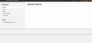 Use modules when working with Joomla