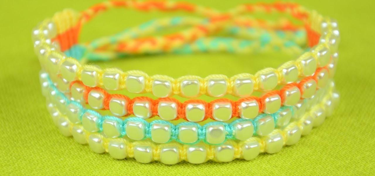 Make Beaded Bracelets