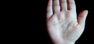Give someone career advice by reading their palm