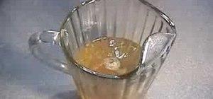 Make fruit iced tea
