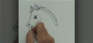 Draw a horse with Jan Brett