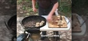 Make seafood stuffed clams on the barbecue