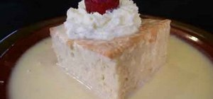 Make Mexican tres leches
