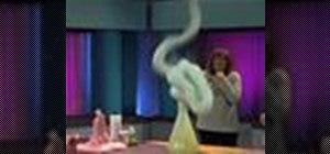 Make a crazy foam explosion science experiment
