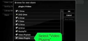 Add plugin sources to XBox Media Center
