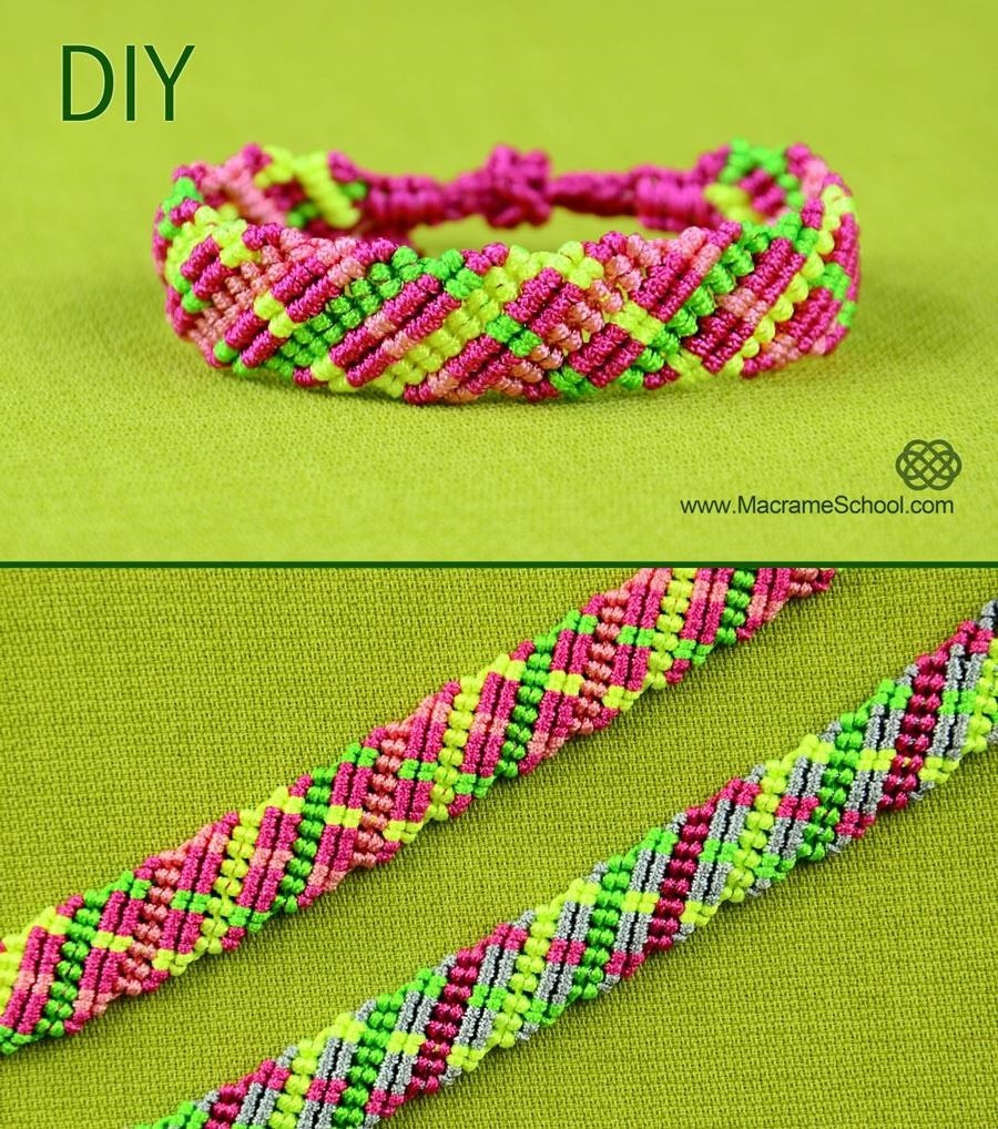 Criss-Cross Bracelet Tutorial