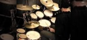 Play odd time signatures on your drums kit