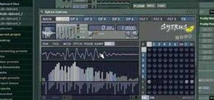 Work with samples in FL Studio (fruity loops)