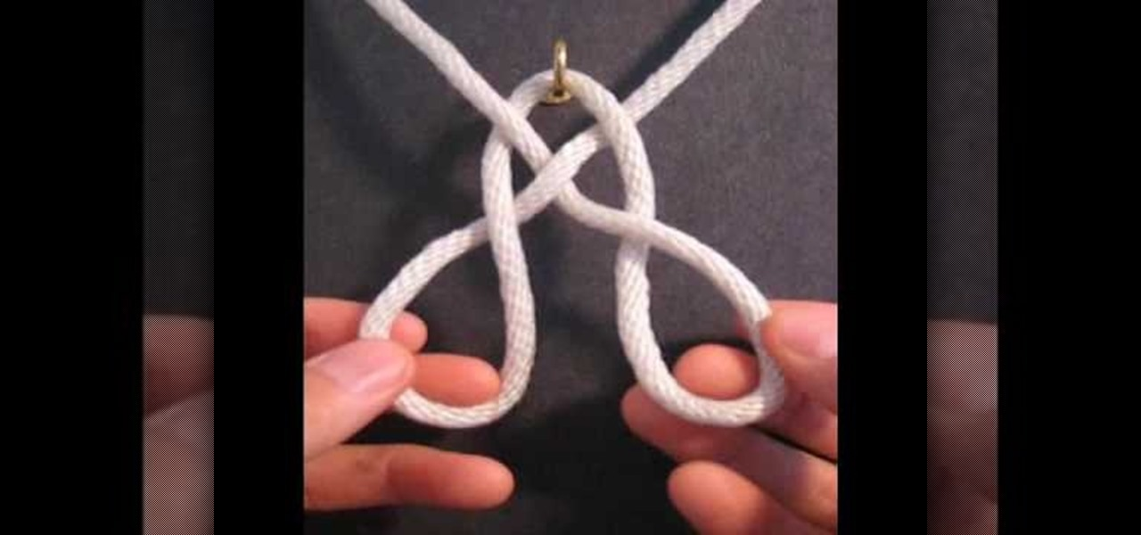 How To Weave A String Basket : How to tie the basket weave decorative knot ? sewing