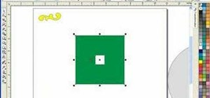 Move and position objects in Corel Draw X3