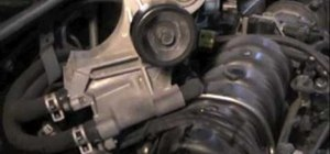 FIx a leaking coolant bypass tube on a 3.8 Chevy engine