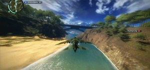Get the Bridge Limbo achievement in Just Cause 2