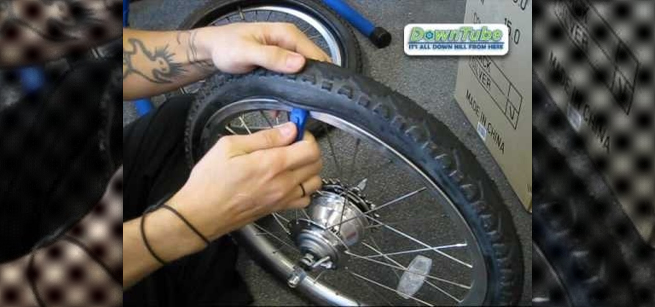 how to change a bike tire video