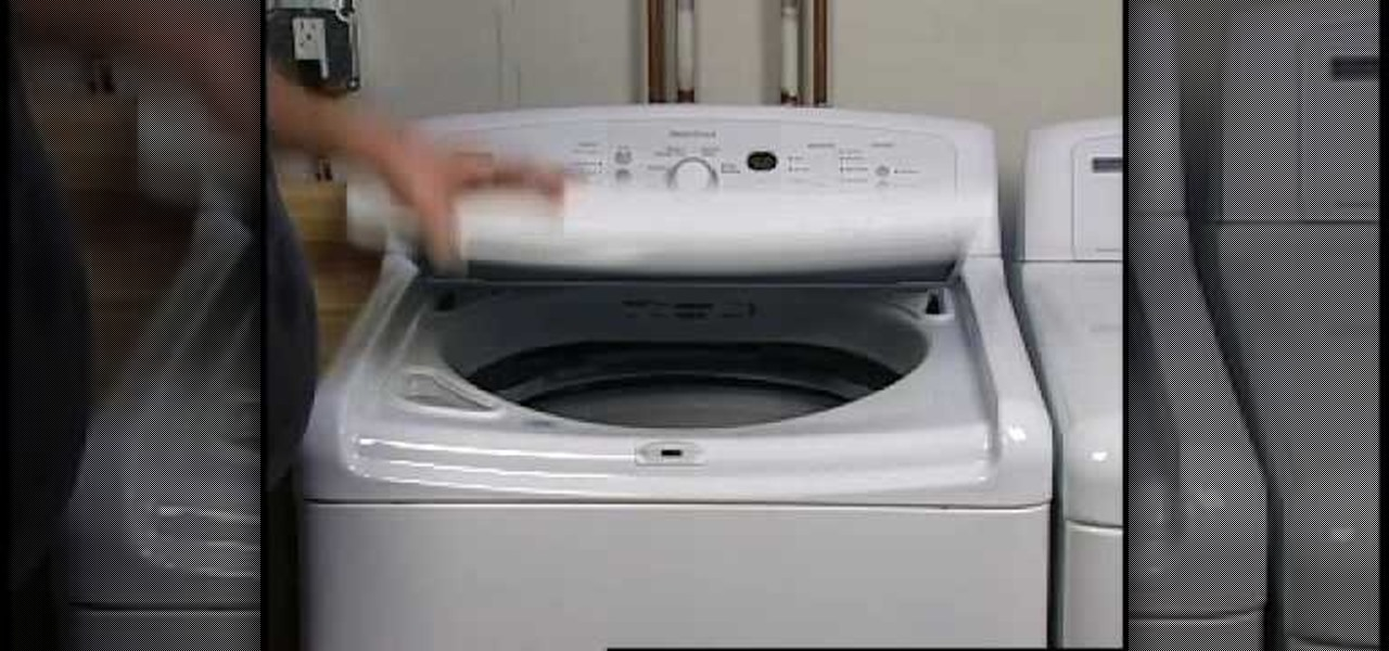 how to get rid of any odors coming from your washer home appliances wonderhowto. Black Bedroom Furniture Sets. Home Design Ideas