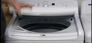 Get rid of any odors coming from your washer