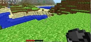 Build a water trap to stop zombies and other creatures in Minecraft