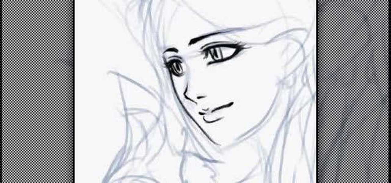 How To Draw An Anime Girl In Photoshop Drawing Illustration Wonderhowto
