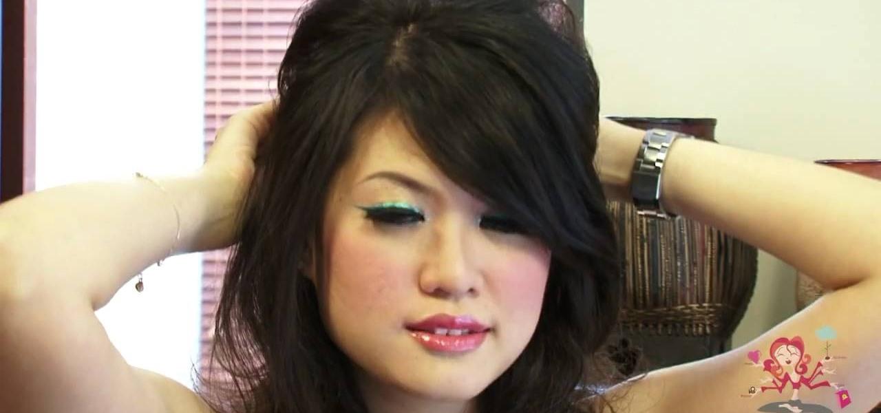 Amy Winehouse Beehive Hairdo 5