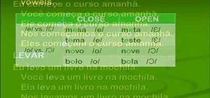Conjugate present tense verbs in Brazilian Portuguese