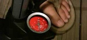 Build a high-powered metal air gun that shoots BB's or blow darts