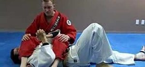 Defend an arm bar in Jiu Jitsu