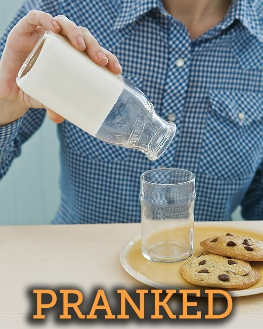 How to Turn Milk Solid: A Devilishly Frustrating Breakfast Prank for April Fool's Day