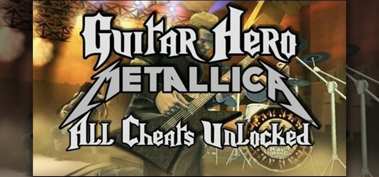 How To Unlock All Cheats On Guitar Hero Metallica Xbox 360