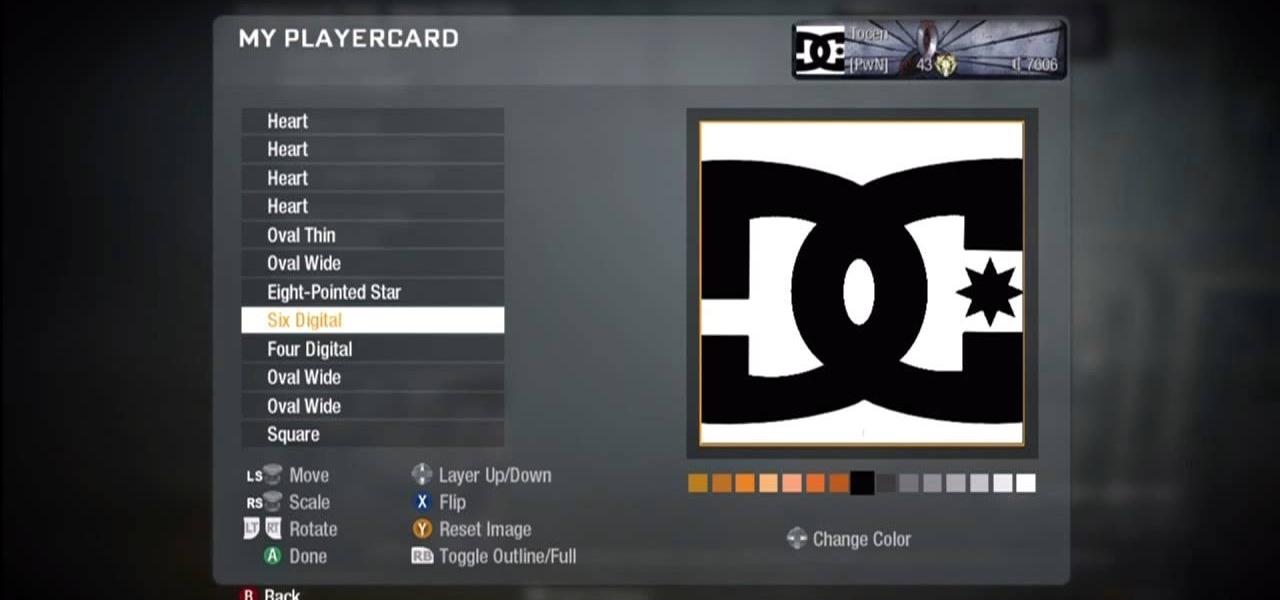 how to make black ops emblems