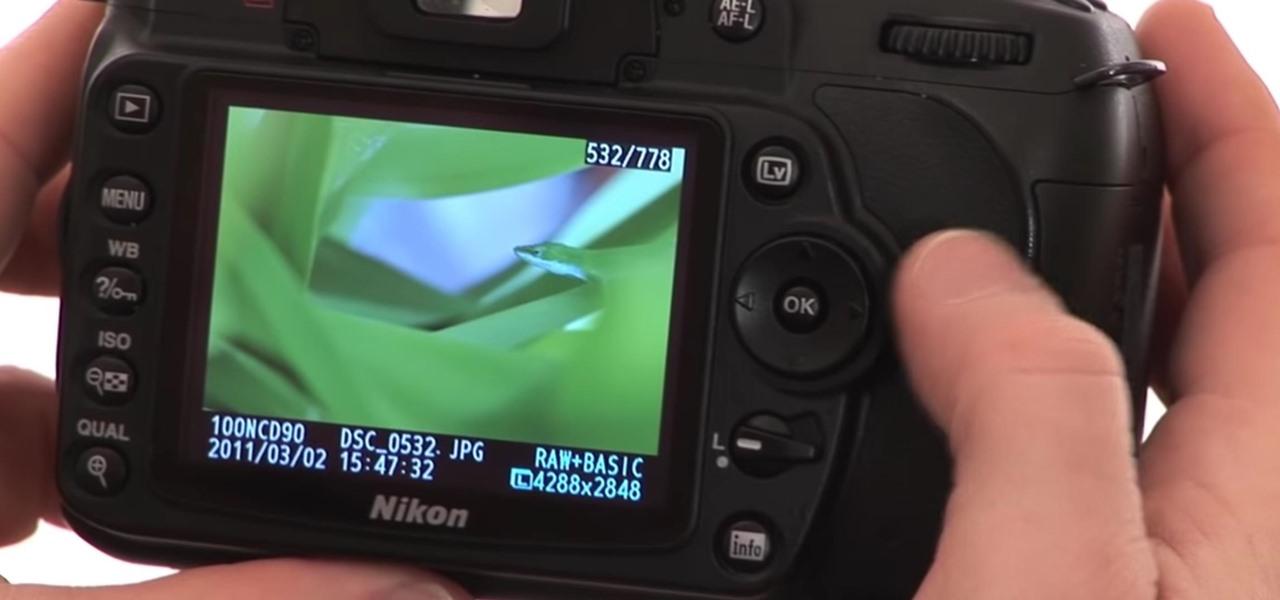Operate the Nikon D90 Digital Camera