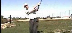 Finish your golf swing correctly