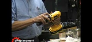 Align your DeWalt DW987 Drill's transmission in place