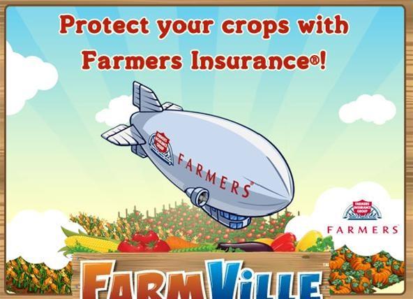 FarmVille Farmers Insurance Promotion