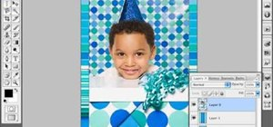 Create a photo background in Photoshop