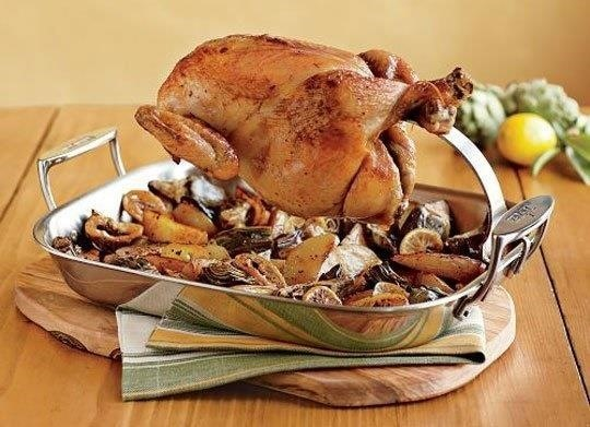 Make Rotisserie-Style Chicken at Home Using a Bundt Pan